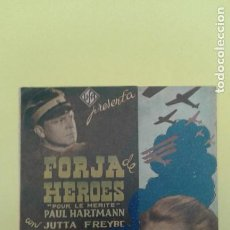 Cine: FORJA DE HEROES PAUL HARTMANN JUTTA FREYBE ORIGINAL DOBLE S.P.. Lote 228708395
