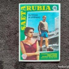 Cine: SAETA RUBIA. PROGRAMA DE MANO SIN PUBLICIDAD. ALFREDO DI STEFANO.. Lote 228782335