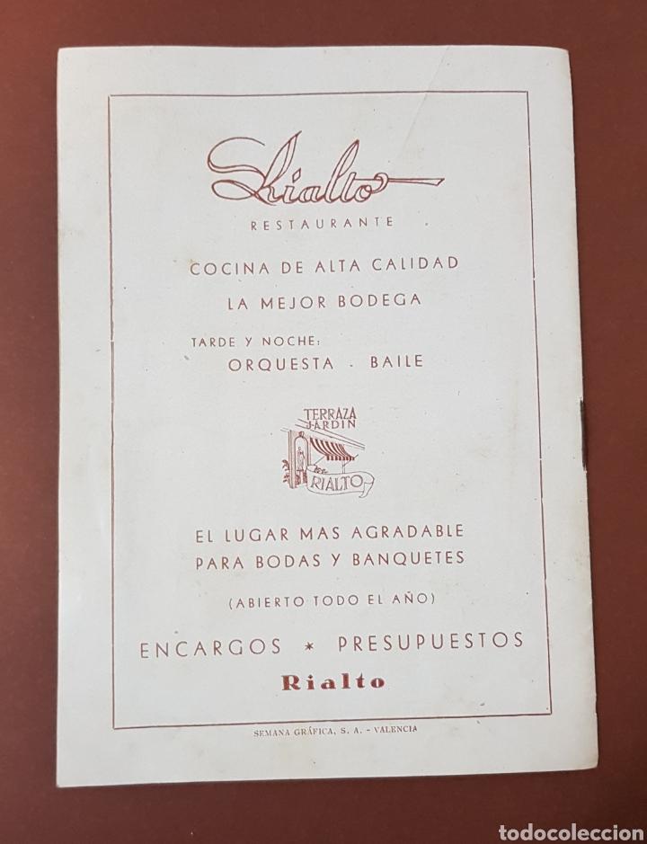 Cine: INFIERNO EN LA NUBES - CINES RIALTO - PROGRAMA CINE - FOLLETO DE MANO - AÑO 1952 - Foto 8 - 229118325