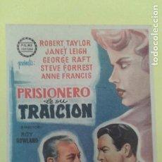 Cine: PRISIONERO DE SU TRAICION ROBERT TAYLOR ORIGINAL C.P. CINESPECTACULO. Lote 229730255