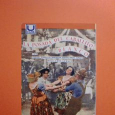 Cine: LA POSADA DEL CABALLITO BLANCO U FILMS IMPROVISACION CINEMA. Lote 230586445