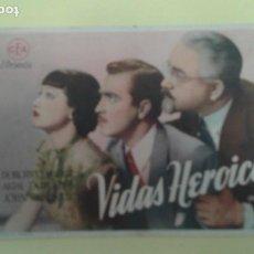Cine: VIDAS HEROICAS DOROTHY LAMOUR AKIM TAMIROFF ORIGINAL S.P. ALGUN DEFECTO. Lote 230740370