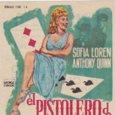 Cine: EL PISTOLERO DE CHEYENNE (CON PUBLICIDAD). Lote 231252275