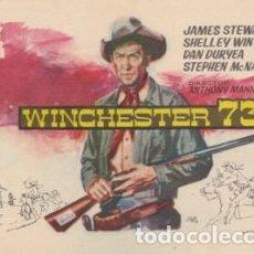 Cine: WINCHESTER 73. Lote 231252945