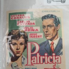 Cine: PROGRAMA DE CINE PATRICIA MÍA BENGALA FILMS. Lote 231623330