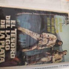 Cine: EL TESORO DEL LAGO DE LA PLATA-DER SCHATZ IM SILBERSEE-HARALD REINL-LEX BARKER-HERBERT LOM-1963.. Lote 231708700