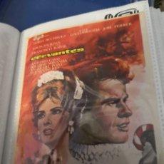 Cine: FOLLETO DE MANO PROGRAMA DE CINE, CERVANTES, AÑOS 60. Lote 231709005