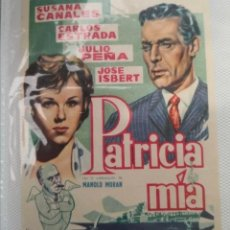 Cine: PROGRAMA DE CINE PATRICIA MÍA BENGALA FILMS. Lote 231719765