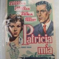 Cine: PROGRAMA DE CINE PATRICIA MÍA BENGALA FILMS. Lote 231719805