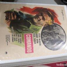 Cine: PROGRAMA DE MANO ORIGINAL- COMANDO. Lote 231793675