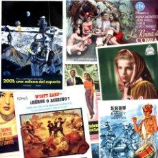 Cine: LOTE DE 50 FOLLETOS PROGRAMAS DE CINE ORIGINALES TODOS DIFERENTES EN PERFECTO ESTADO COMPARTIR LOTE. Lote 231831460