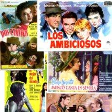 Cine: LOTE DE 50 FOLLETOS PROGRAMAS DE CINE ORIGINALES TODOS DIFERENTES EN PERFECTO ESTADO. Lote 231861965