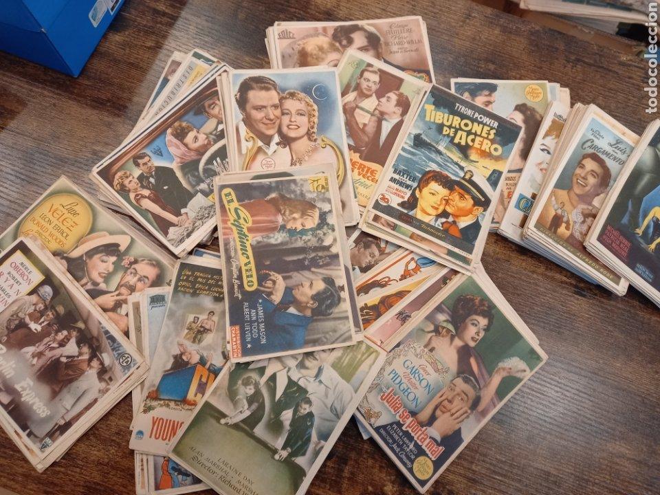 Cine: Lote 628 programas cine. Sencillos. Años 40-50 - Foto 2 - 232618835