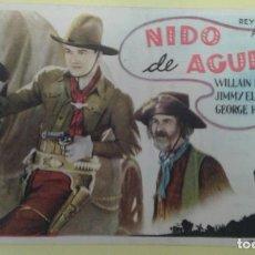 Cine: NIDO DE AGUILAS WILLIAM BOYD ORIGINAL C.P. CINE BENAVENTE. Lote 232782948