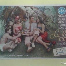 Cine: LA REINA DE COBRA MARIA MONTEZ ORIGINAL S.P.. Lote 232925101