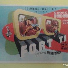 Cine: FORT TI GEORGE MONTGOMERY ORIGINAL S.P.. Lote 233057100