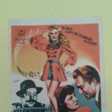 Cine: ALAS EN LOS PIES ELLEN DREW ORIGINAL S.P.. Lote 233062765