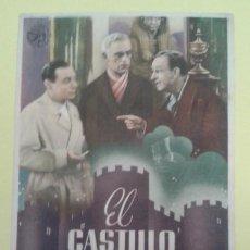 Cine: EL CASTILLO DE LOS MISTERIOS BORIS KARLOFF ORIGINAL S.P.. Lote 233196790