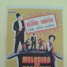 Cine: MELODIAS DE BROADWAY 1955 FRED ASTAIRE ORIGINAL S. P.. Lote 233224785
