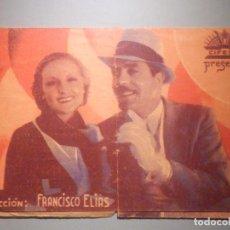 Foglietti di film di film antichi di cinema: FOLLETO DE MANOO - CINE - PELÍCULA - RATAPLÁN - DOBLE CIFESA - ANTOÑITA COLOME Y FELIX POMES. Lote 233413350