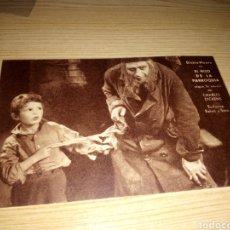 Cine: ANTIGUO PROGRAMA DE CINE CARTÓN. EL HIJO DE LA PARROQUIA. AÑO 30. CINE PRINCIPAL I MODERNO. 1934. Lote 233427855
