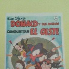Cine: DONALD Y SUS AMIGOS CONQUISTAN EL OESTE ORIGINAL S.P. BUEN ESTADO. Lote 233473700