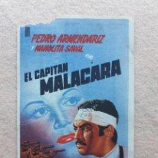 Cine: EL CAPITÁN MALACARA. PEDRO ARMENDARIZ, MANOLITA SAVAL, EL CHICOTE, MIMI DERBA.... Lote 233500185