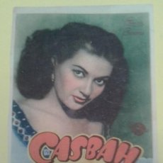 Cine: CASBAH YVONNE DE CARLO ORIGINAL S.P.. Lote 233719610
