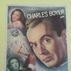Cine: VENGANZA DE MUJER CHARLES BOYER ORIGINAL S.P.. Lote 233784955