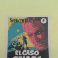 Cine: EL CASO O´HARA SPENCER TRACY ORIGINAL CON SELLO DEL CINE. Lote 233899115