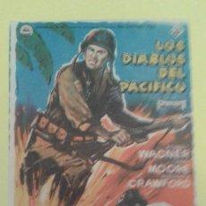 Cine: LOS DIABLOS DEL PACIFICO ROBERT WAGNER ORIGINAL S.P. BUEN ESTADO. Lote 233983270
