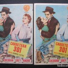 Cine: CARRETERA 301, STEVE COCHRAN, VARIANTE. Lote 234061700