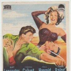 Flyers Publicitaires de films Anciens: SOGA DE ARENA (CON PUBLICIDAD). Lote 234577345