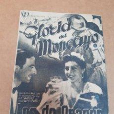 Cine: ANTIGUO PROGRAMA CINE GLORIA DEL MONCAYO LOS DE ARAGON MURCIA. Lote 234623335