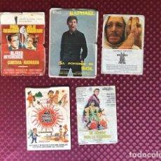 Cine: PROGRAMAS DE CINE FOLLETOS DE MANO LOTE 3 VARIADO CINE ARRIOLA CINE. Lote 234743250