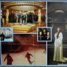 Folhetos de mão de filmes antigos de cinema: PTEB 057 DUNE PROGRAMA DOBLE DESPLEGABLE DAVID LYNCH STING KYLE MACLACHLAN SCI-FI. Lote 234764790