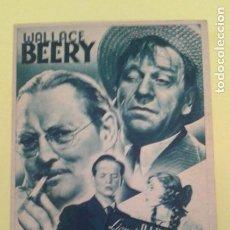 Foglietti di film di film antichi di cinema: AYER COMO HOY LIONEL BARRYMORE TARJETA MGM ORIGINAL C.P. DOS CINES. Lote 234861320