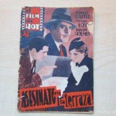 Cine: ASESINATO EN LA TERRAZA BARNER BAXTER Y MIRNA LOY METRO GOLDWING MAYER AÑOS 40. Lote 234899160