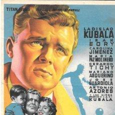 Cine: CUATRO ANUNCIOS DE MANO. CINE ESPAÑOL AÑOS 1954-1970. Lote 234948305