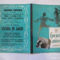 Flyers Publicitaires de films Anciens: T19 ------ PROGRAMA DE MANO ORIGINAL EL DE LA FOTO. Lote 235180325