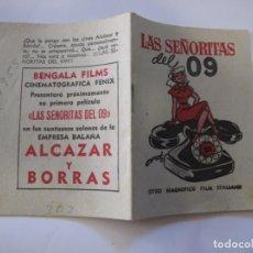Flyers Publicitaires de films Anciens: T36 ------ PROGRAMA DE MANO ORIGINAL EL DE LA FOTO. Lote 235185050