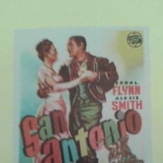 Cine: SAN ANTONIO ERROL FLYNN ORIGINAL S.P. BUEN ESTADO HERNAN FILMS. Lote 235295395