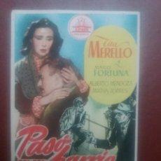 Cine: PASO EN MI BARRIO. Lote 235331370