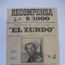 Flyers Publicitaires de films Anciens: T43 ------ PROGRAMA DE MANO ORIGINAL EL DE LA FOTO. Lote 235338480