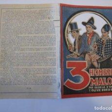 Flyers Publicitaires de films Anciens: T73 ------ PROGRAMA DE MANO ORIGINAL EL DE LA FOTO. Lote 235349035