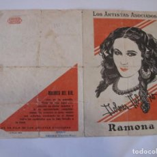 Flyers Publicitaires de films Anciens: T104 ------ PROGRAMA DE MANO ORIGINAL EL DE LA FOTO. Lote 235361600