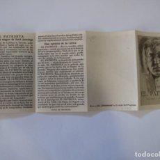 Flyers Publicitaires de films Anciens: T105 ------ PROGRAMA DE MANO ORIGINAL EL DE LA FOTO. Lote 235361785