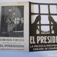 Flyers Publicitaires de films Anciens: T121 ------ PROGRAMA DE MANO ORIGINAL EL DE LA FOTO. Lote 235367390