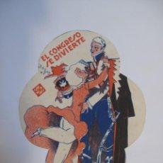 Flyers Publicitaires de films Anciens: T143 ------ PROGRAMA DE MANO ORIGINAL EL DE LA FOTO. Lote 235372765