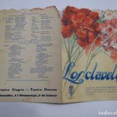 Flyers Publicitaires de films Anciens: T202 ------ PROGRAMA DE MANO ORIGINAL EL DE LA FOTO. Lote 235411595